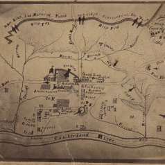 Map of Dover Battlefield
