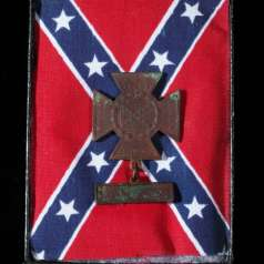 Confederate veteran medal with