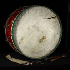 Union Army Bass Drum