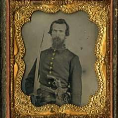 Ambrotype of Captain Ben H. Sandeford