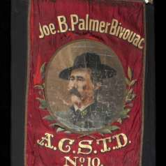 Banner of the Association of Confederate Soldiers, Murfreesboro, TN