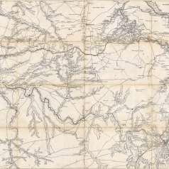 Union map of Middle Tennessee, 1863