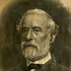 Crayon Print of Robert E. Lee