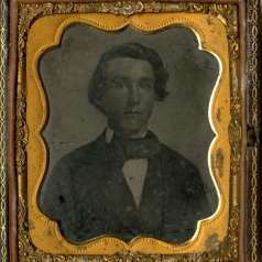 Ambrotype of