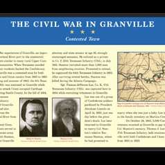The Civil War in Granville