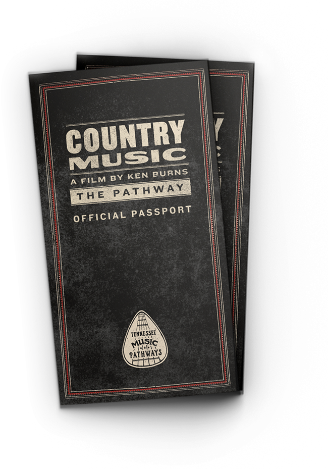 Image of Country Music Pathway passport.