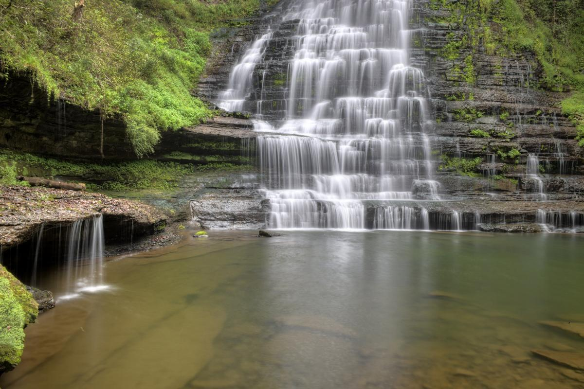 9 secret waterfalls in tennessee tennessee vacation located near smithville tennessee this waterfalls hike is a bit steep to get to but the reward is ample its situated on the property of evins mill publicscrutiny Gallery