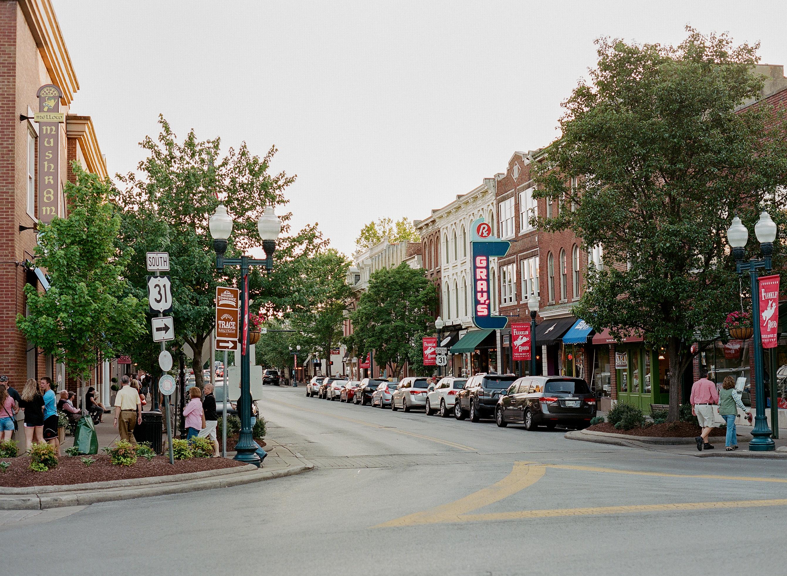 Downtown Franklin Tn >> Experience Franklin Tn Tn Vacation