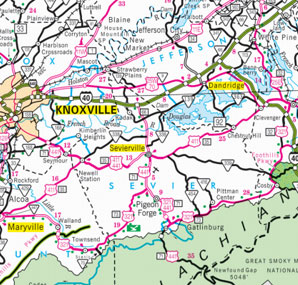 Downloadable Maps | TN Vacation