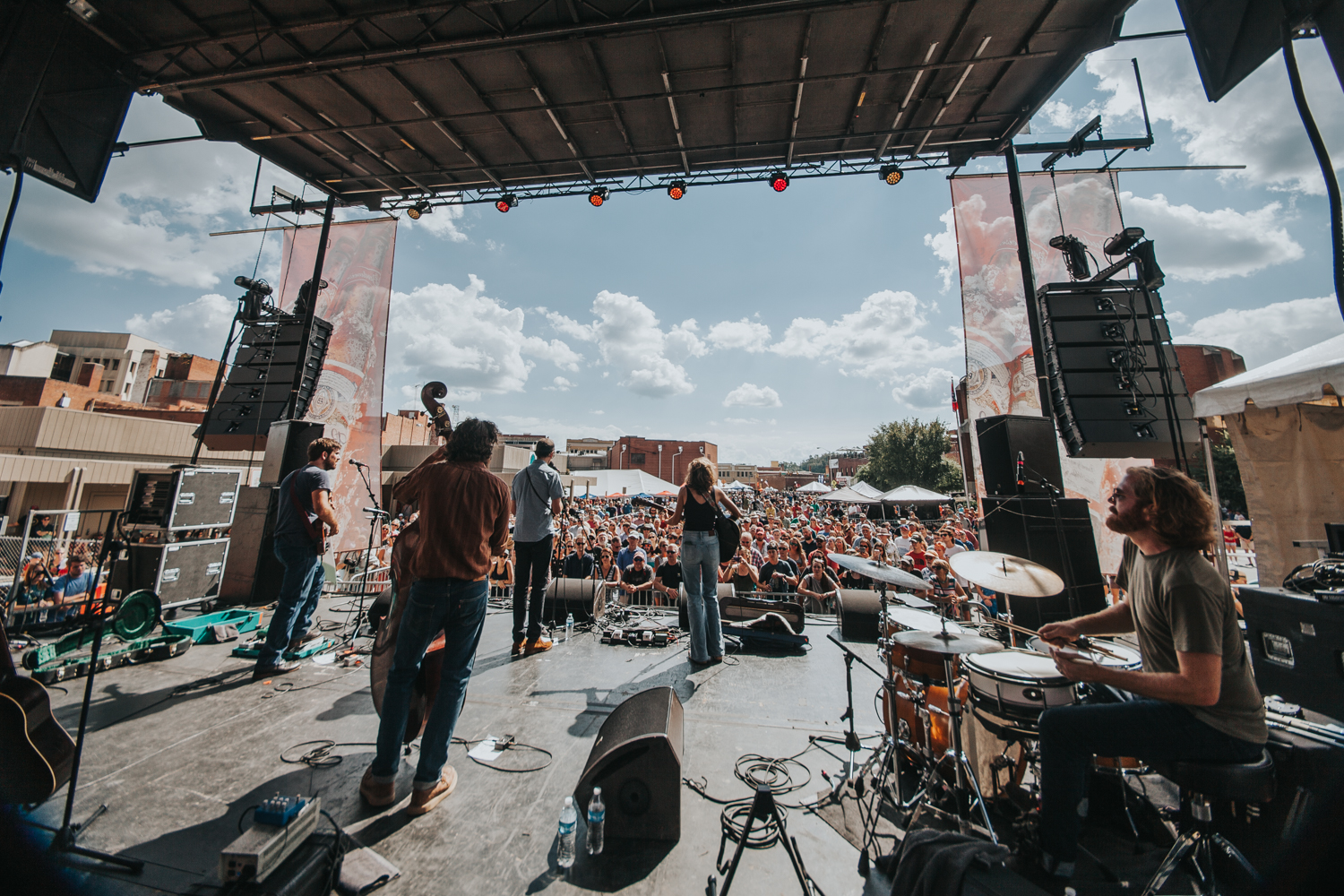 Bristol Rhythm & Roots Reunion in downtown Bristol, TN