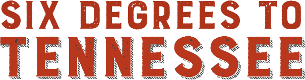 Six Degrees to Tennessee logo.