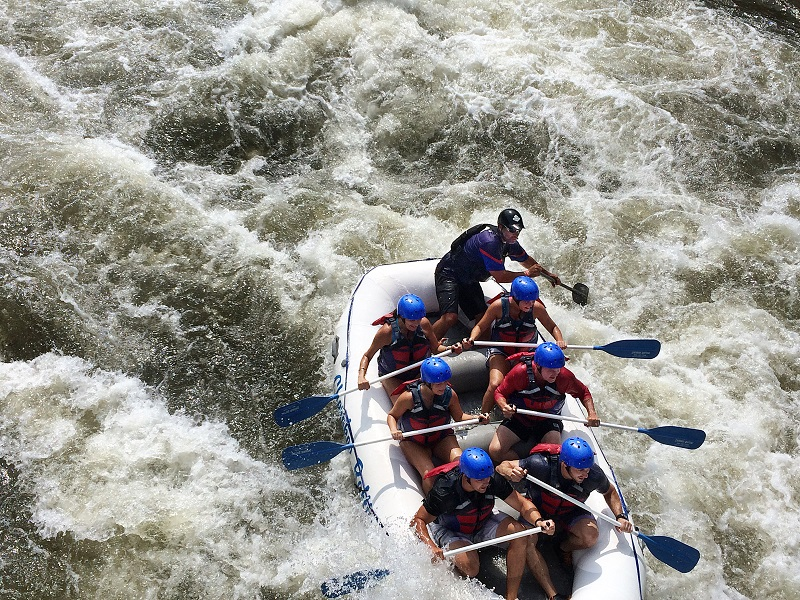 #1 in the US for whitewater rafting