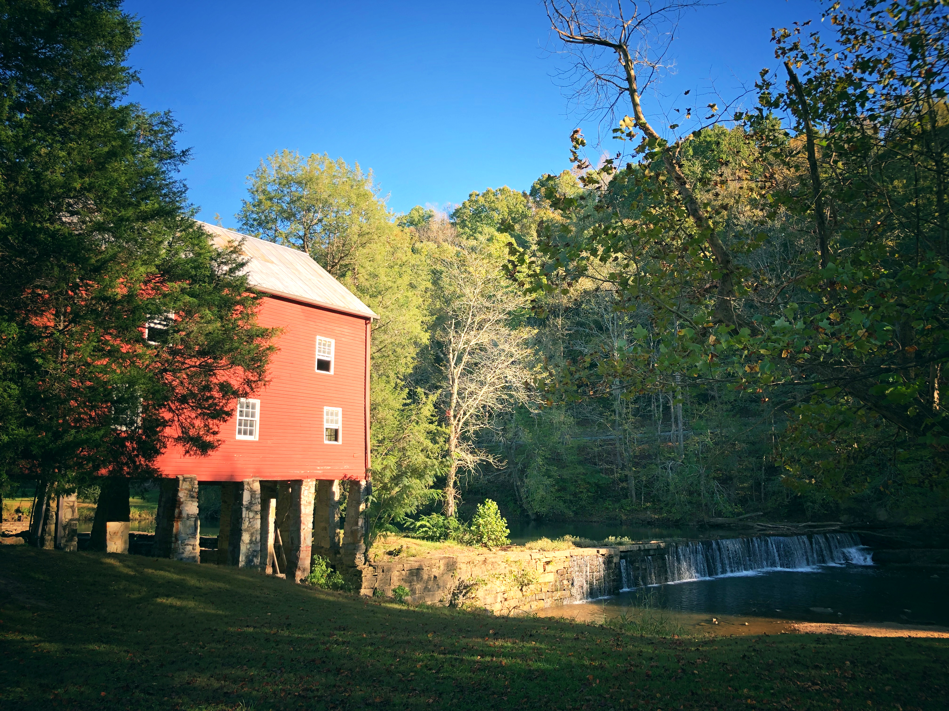 Grist Mill at Alvin C. York State Historic Park, Pall Mall, Tennessee