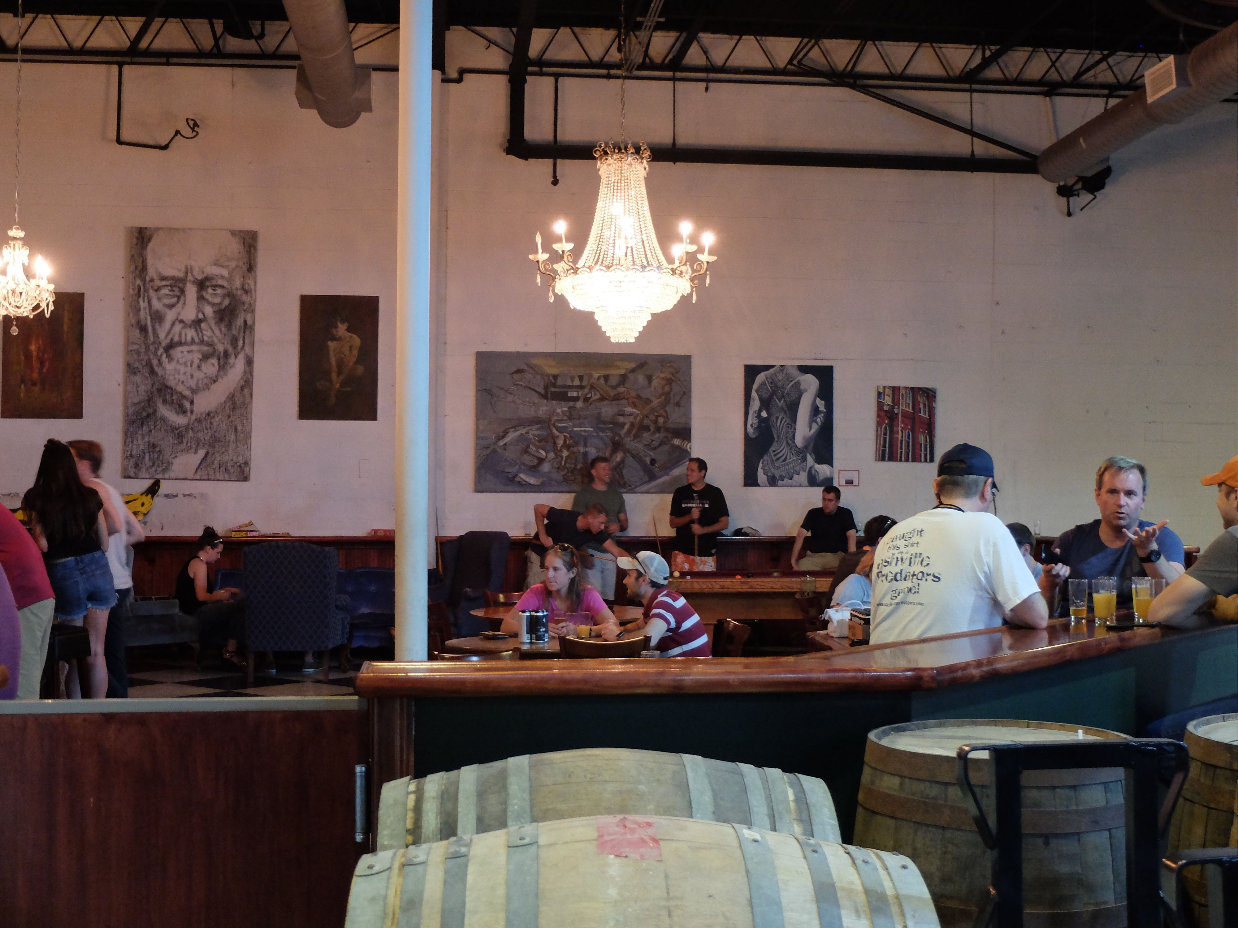 Bearded Iris Brewing Taproom, Nashville