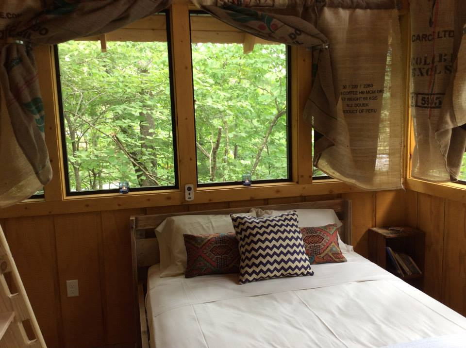 Luxury treehouse at Camp LeConte, Gatlinburg
