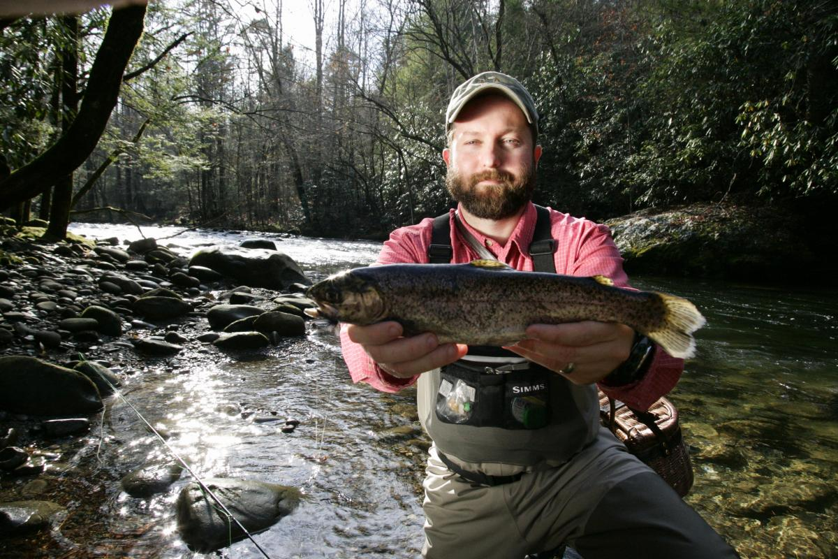 Fishing on Clinch River system