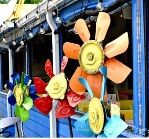 Cootie Browns Colorful Pinwheels