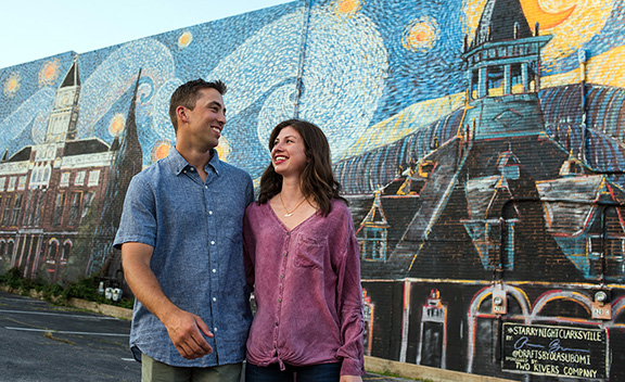 Public art makes Clarksville beautiful and welcoming