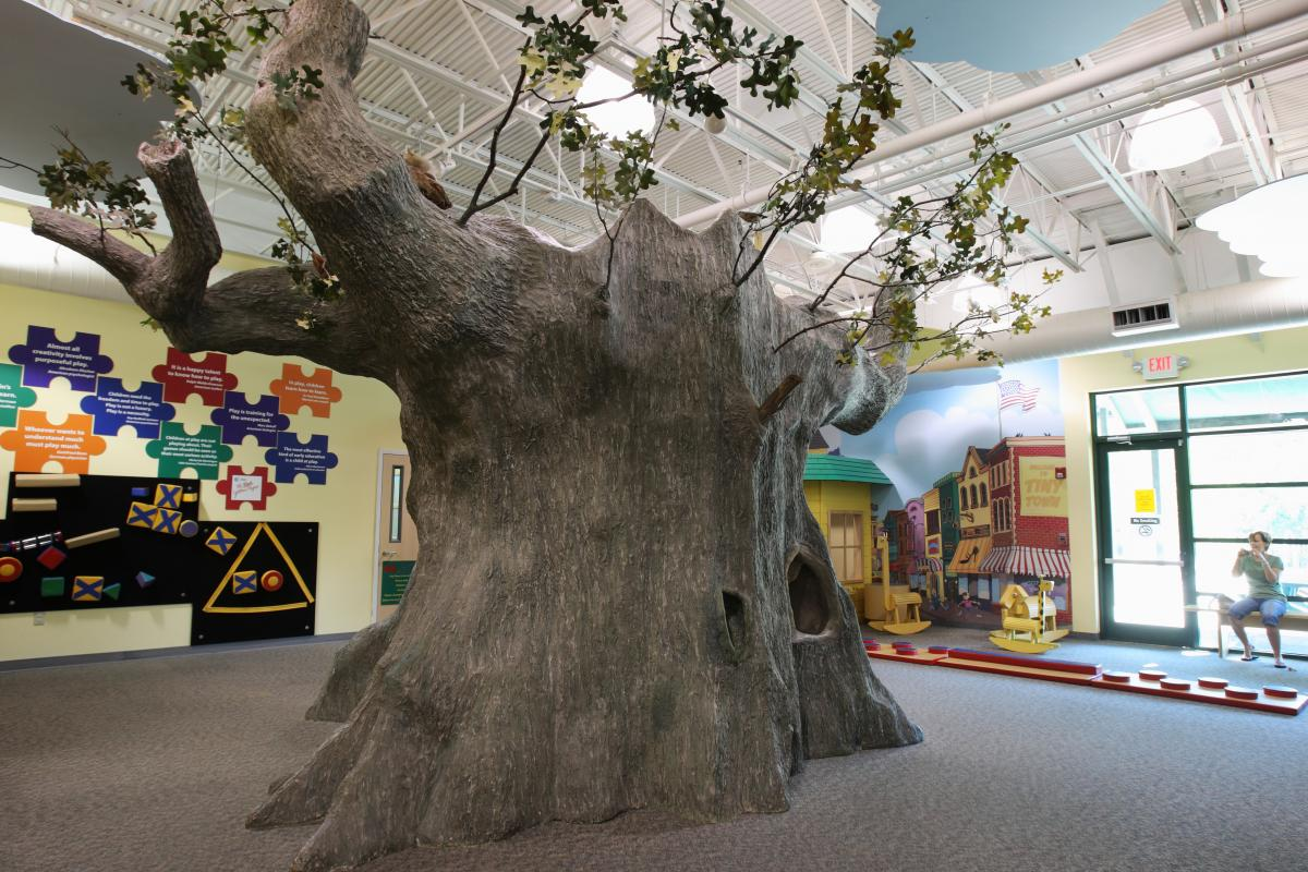 Endless fun can be found inside and outside the Discovery Center