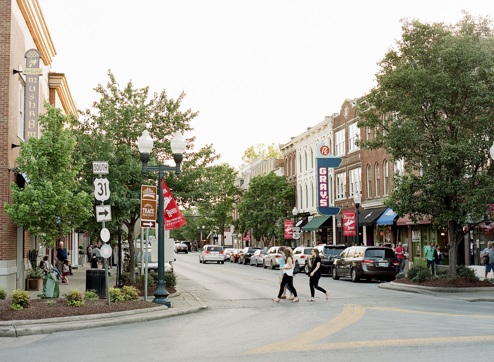 downtown franklin