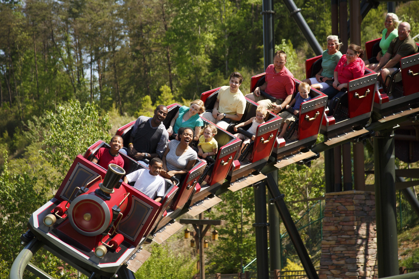 Dollywood rollercoaster