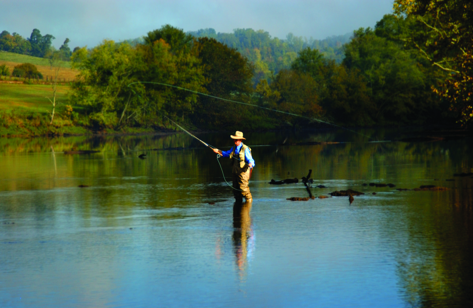 Fishing on Clinch River