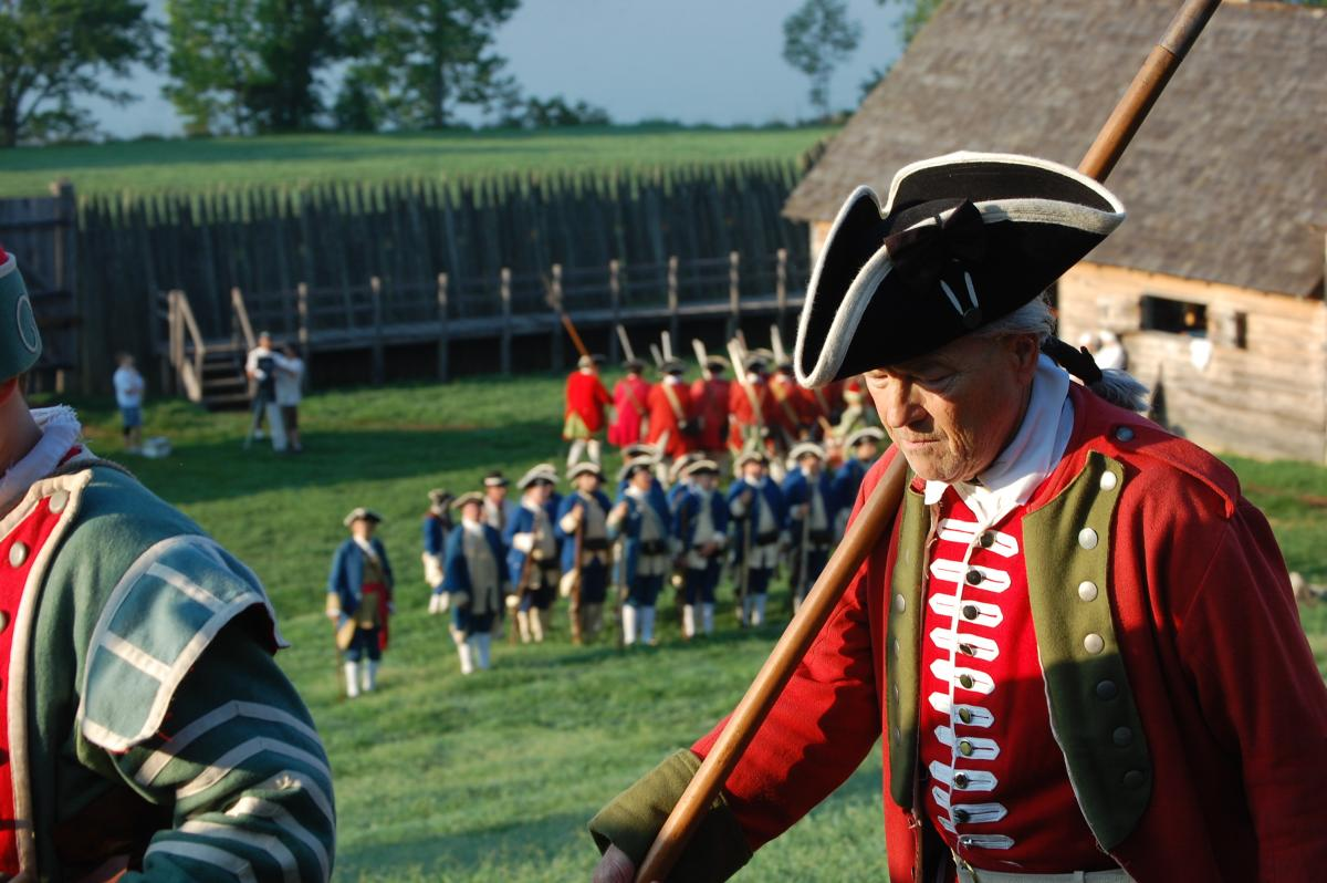 Experience Garrison Weekends when history comes to life circa 1756 at Fort Loudon State Park.