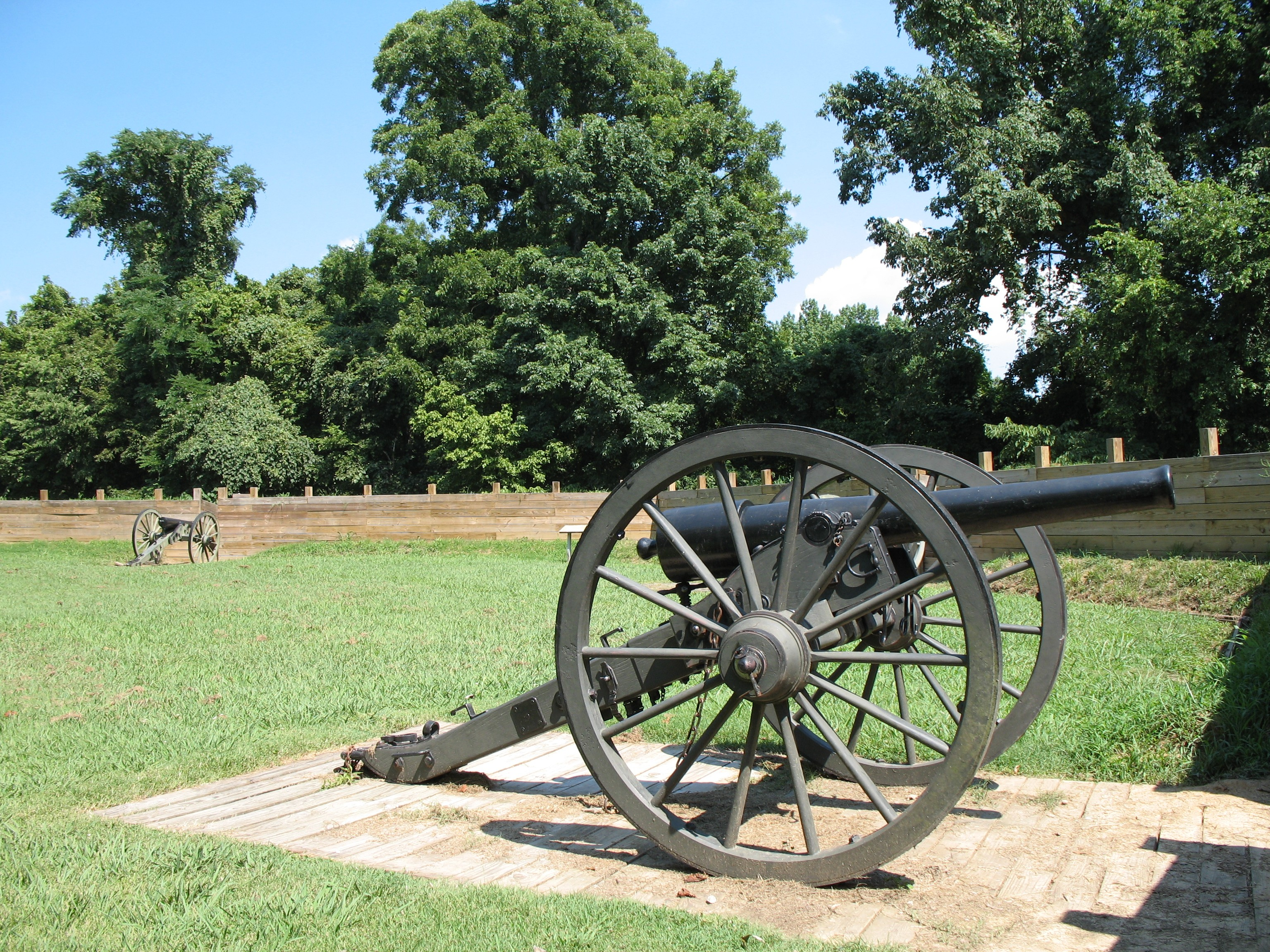 Fort Pillow State Historic Park in Henning, Tennessee