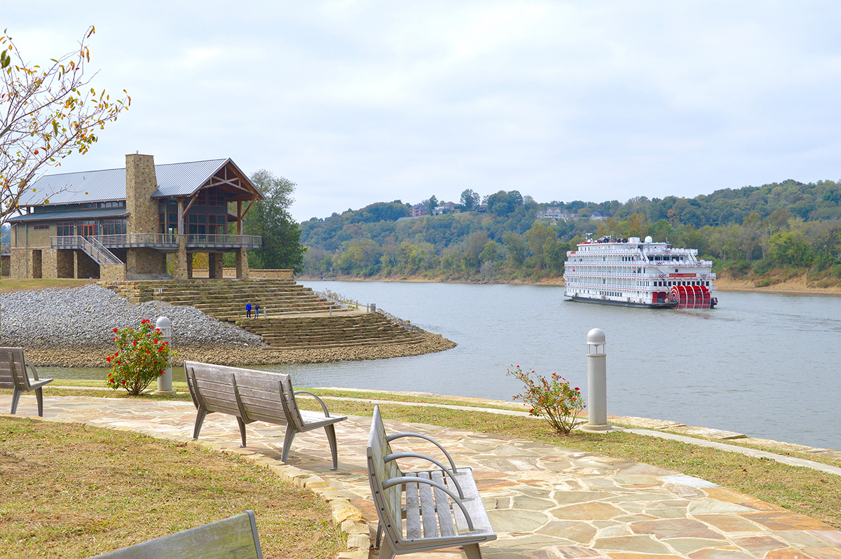 Clarksville is a scenic city on the Cumberland River.