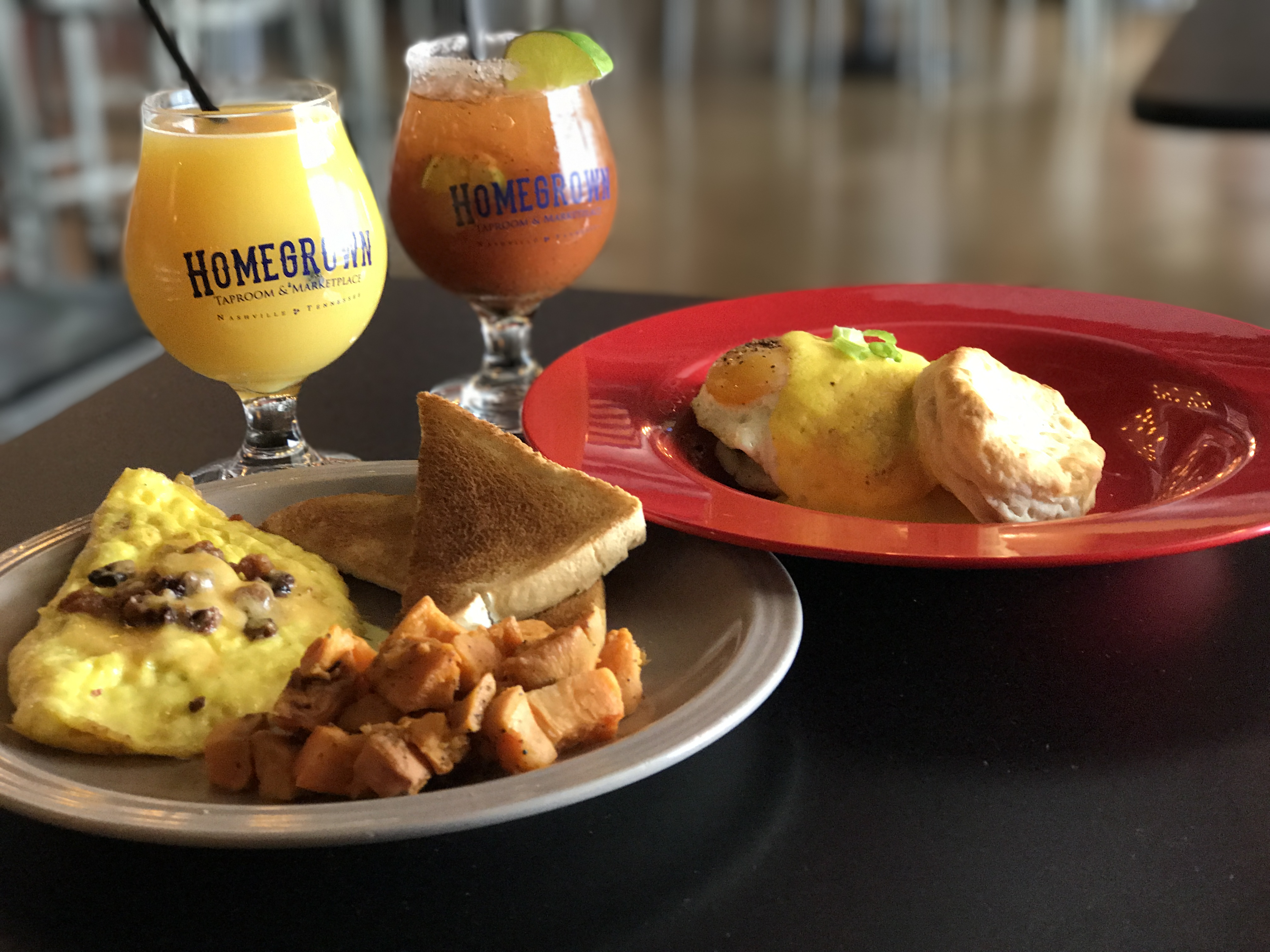 Sips and bites at Homegrown Taproom & Marketplace, Nashville