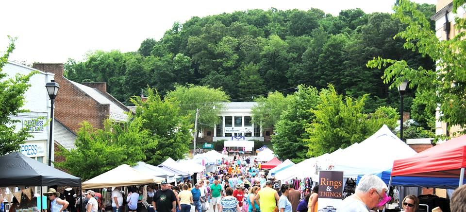Iris Festival in Greeneville, Tennessee