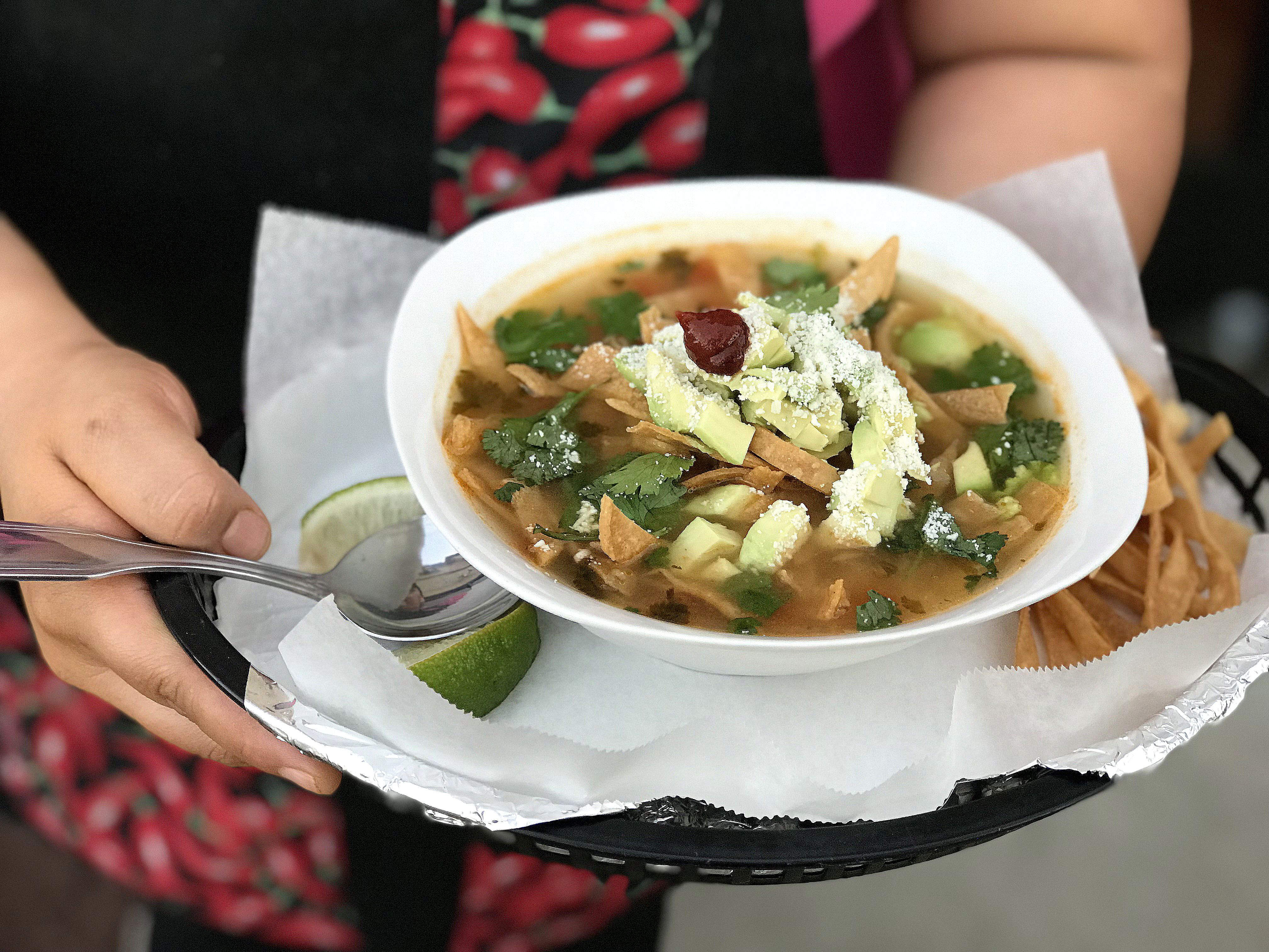 Las Tortugas' Chicken Tortilla Soup in Memphis, Tennessee