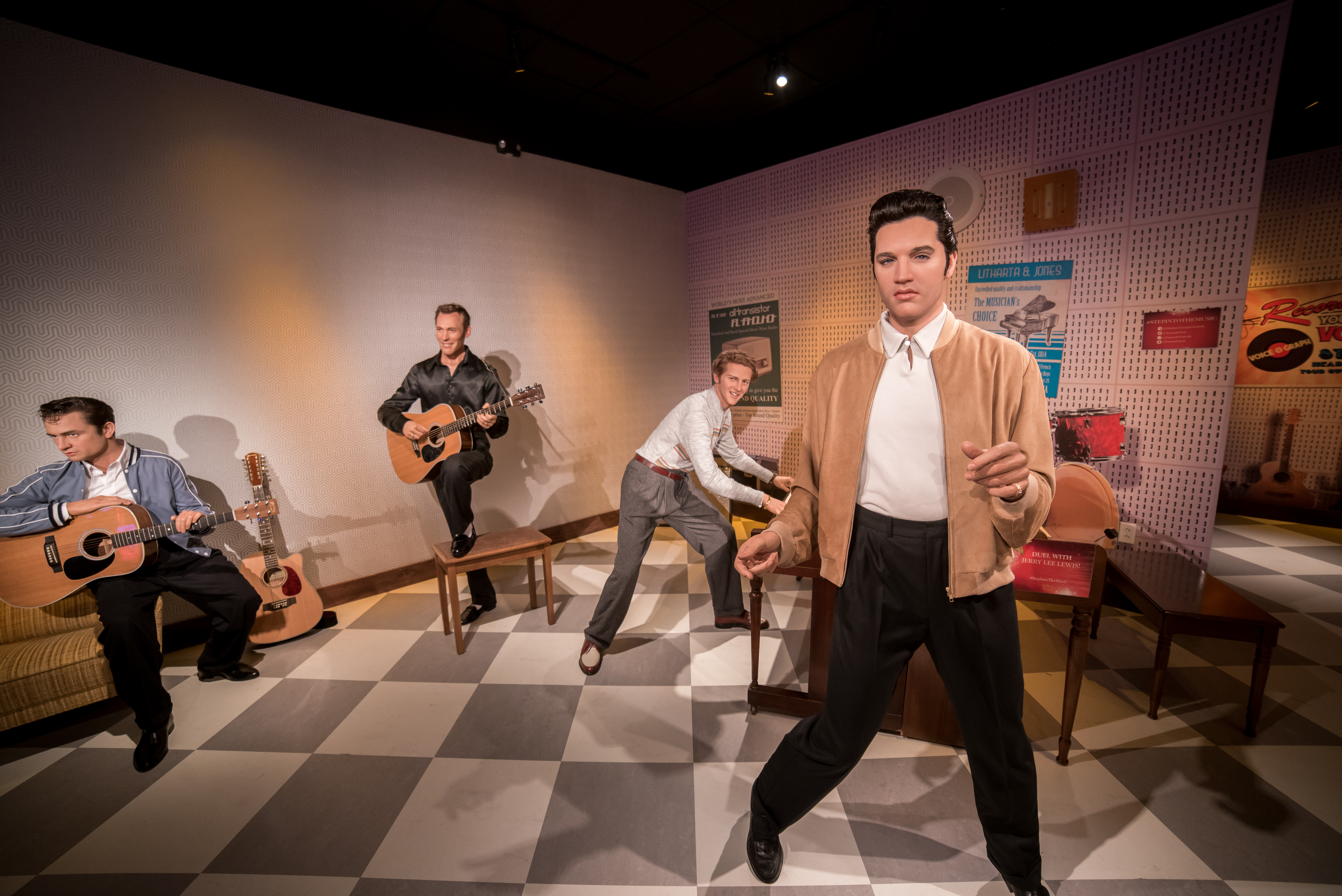 Elvis Presley at Madame Tussauds Nashville