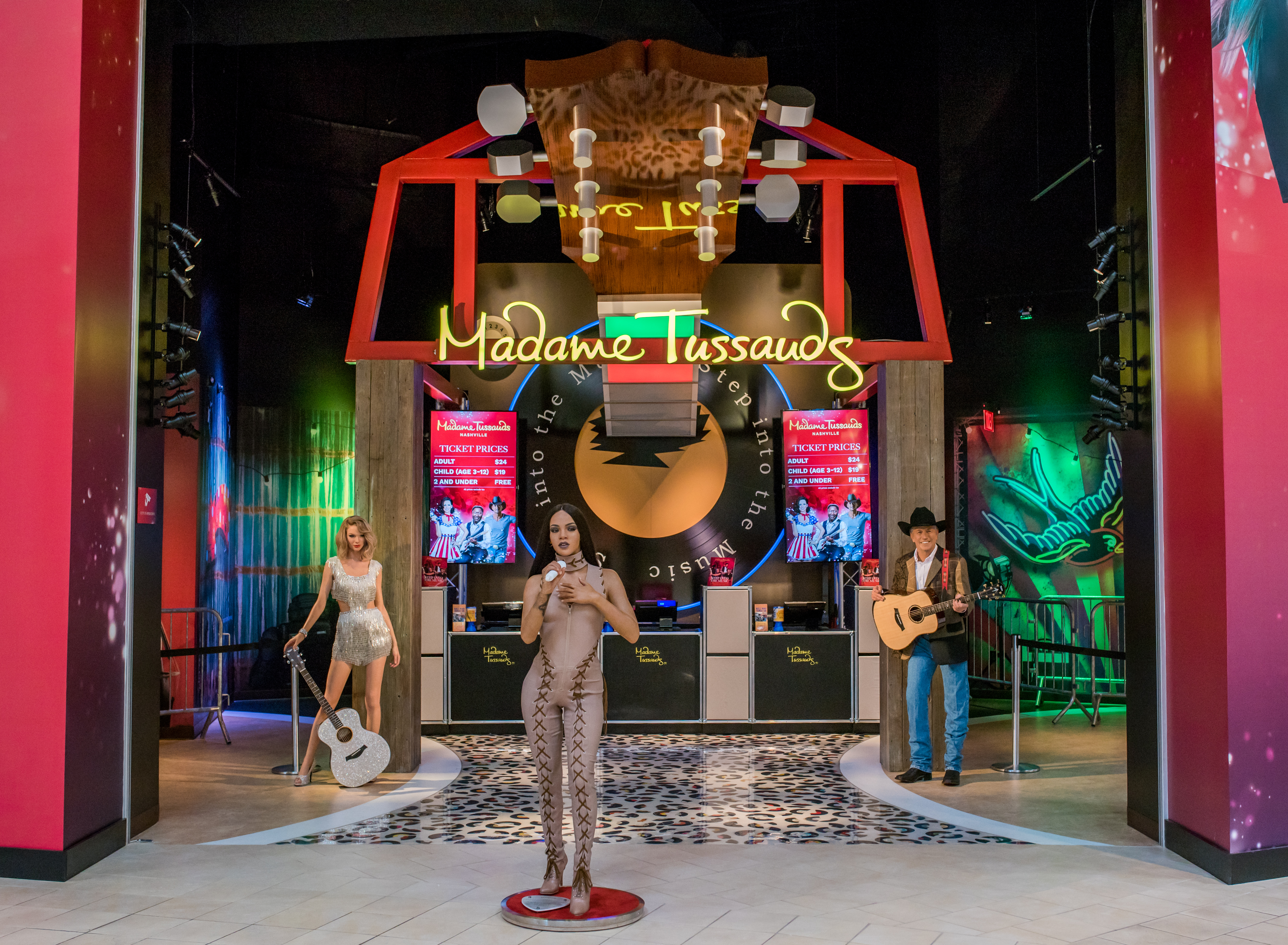 Madame Tussauds Nashville at Opry Mills