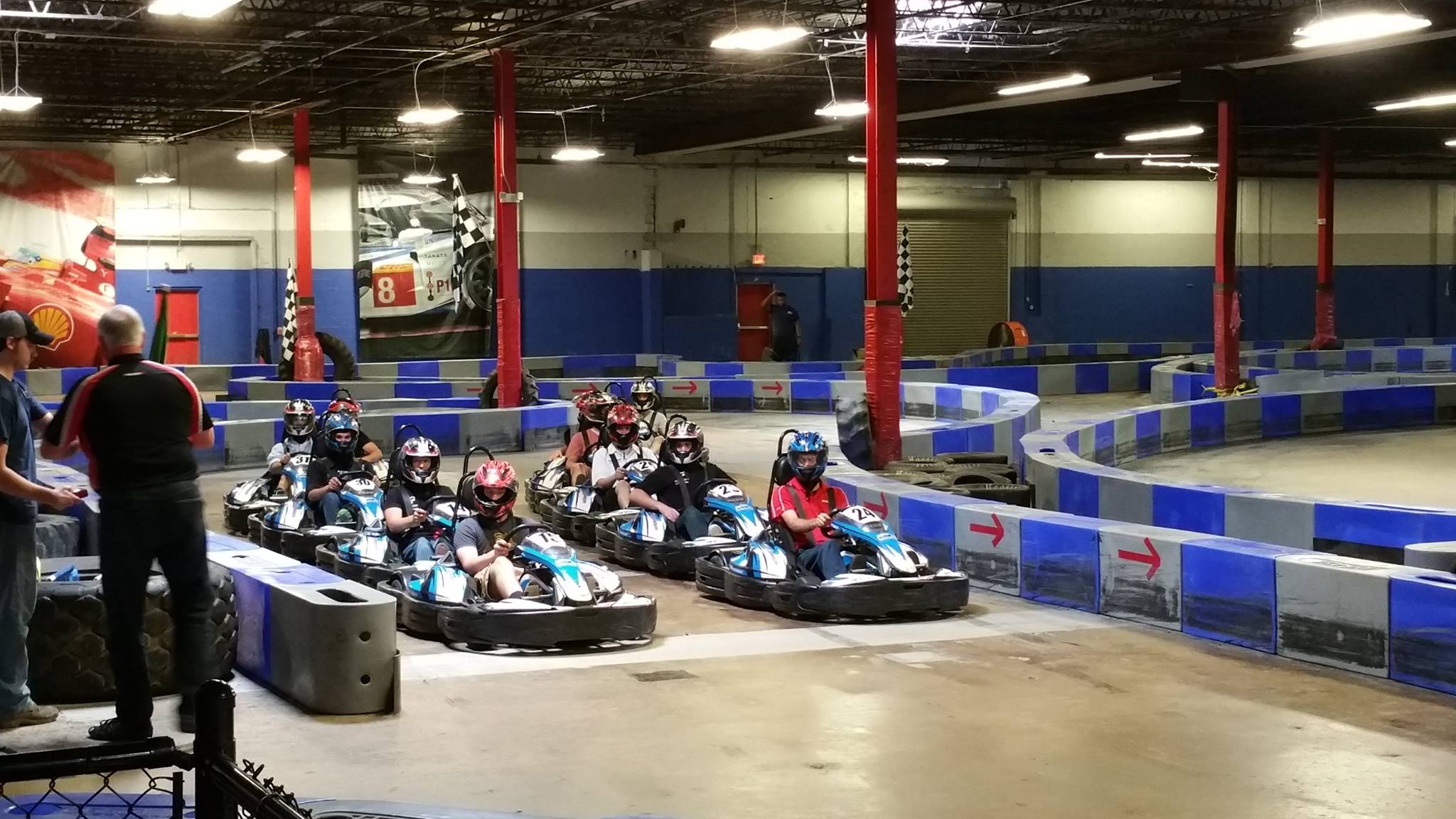Music City Indoor Karting, Nashville, Tennessee