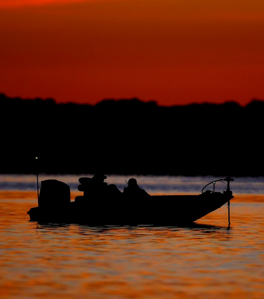 Fishing on Old Hickory Lake, photo credit: TN Dept. of Tourist Development