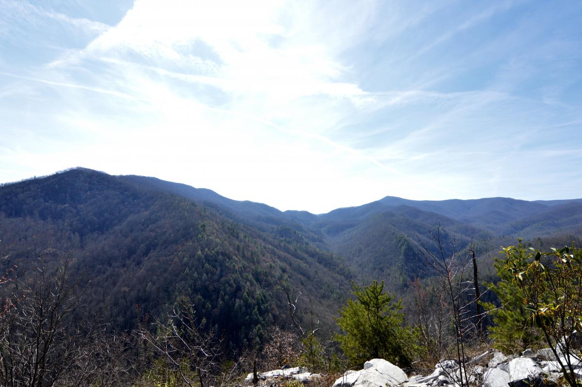 Situated on three sides of the Cherokee National Forest, endless adventures abound in Rocky Fork State Park.