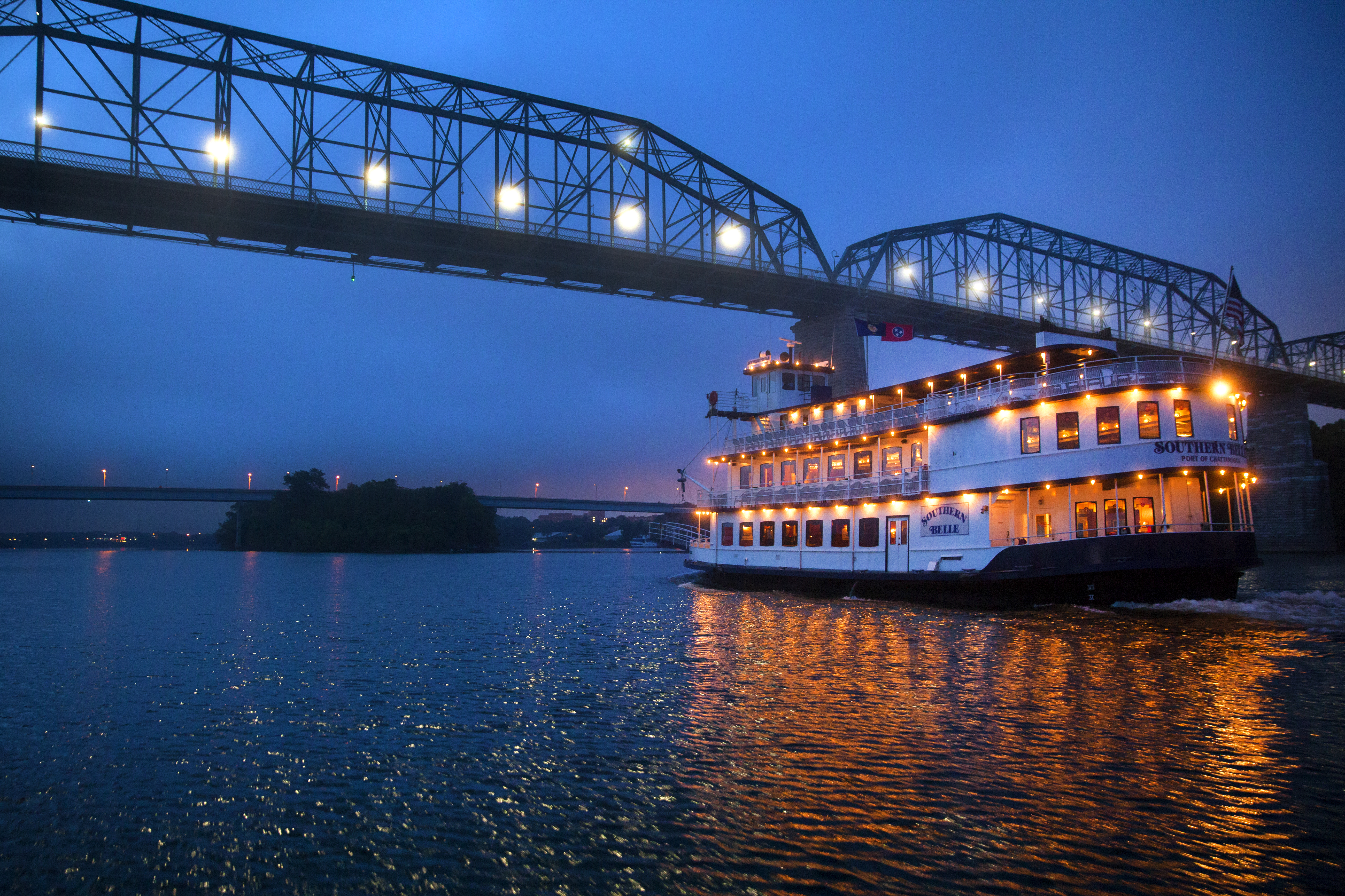 Southern Belle New Year's cruise in Chattanooga.