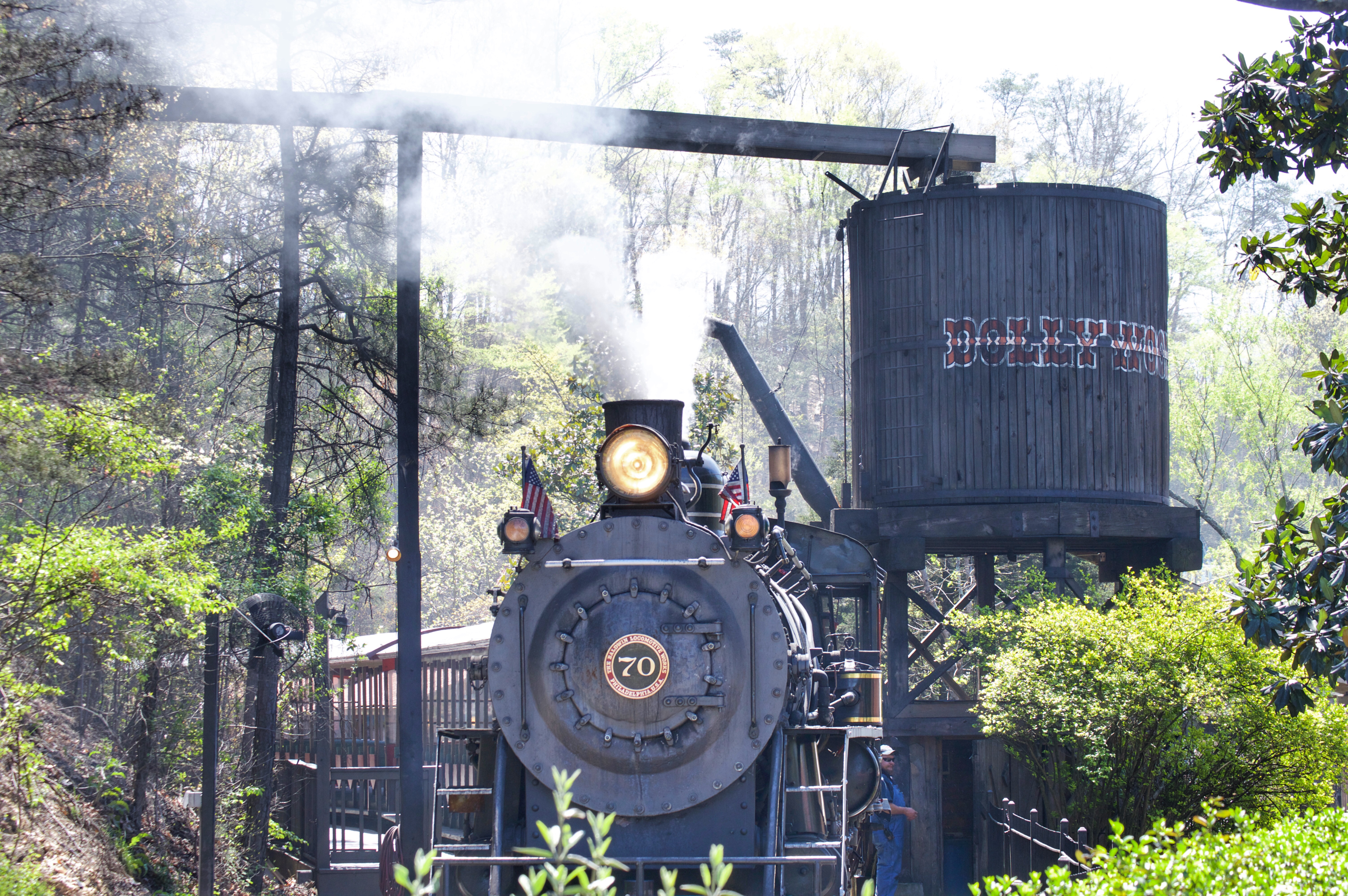 Dollywood Express, Dollywood, Pigeon Forge