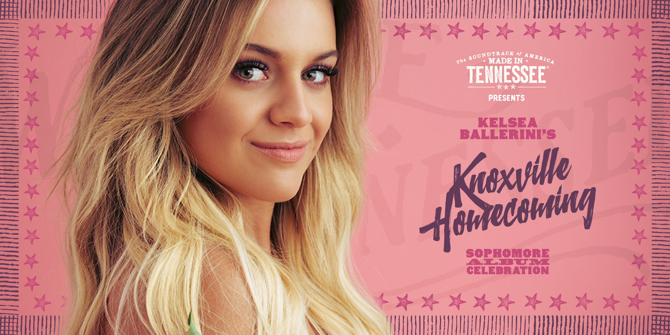 Kelsea Ballerini to host homecoming concert at Central High School, her alma mater, in Knoxville, Tennessee.