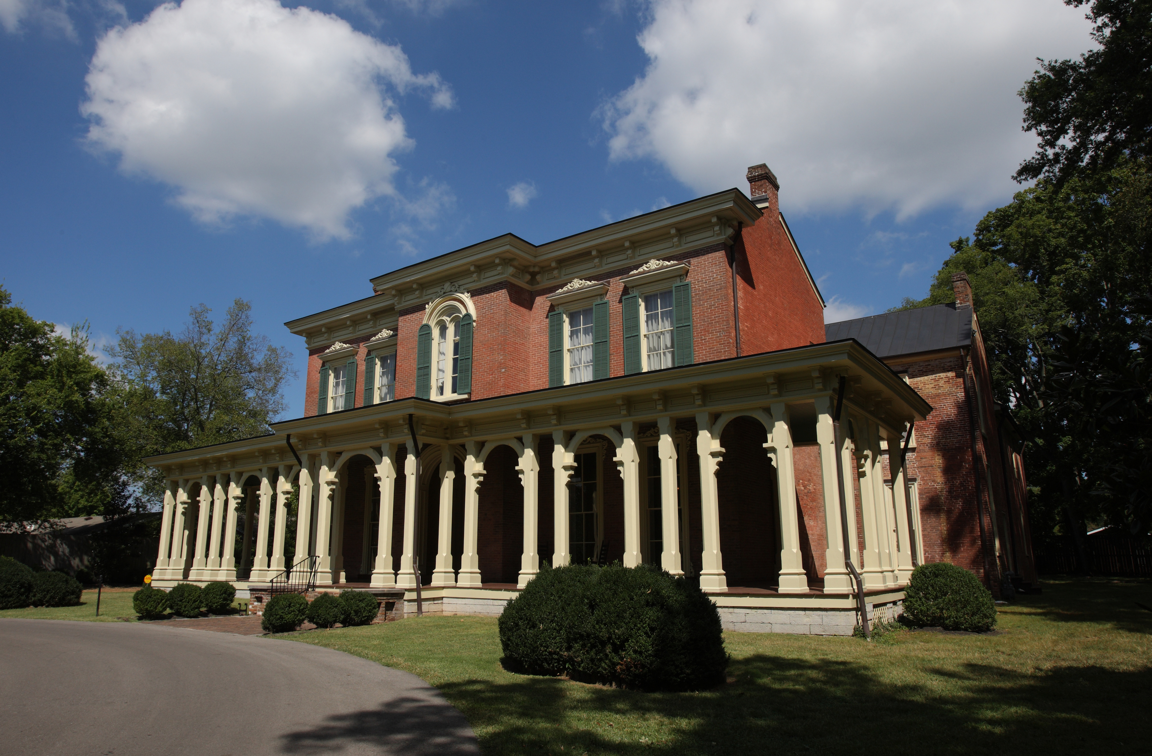 The Oaklands Mansion in Murfreesboro, Tennessee