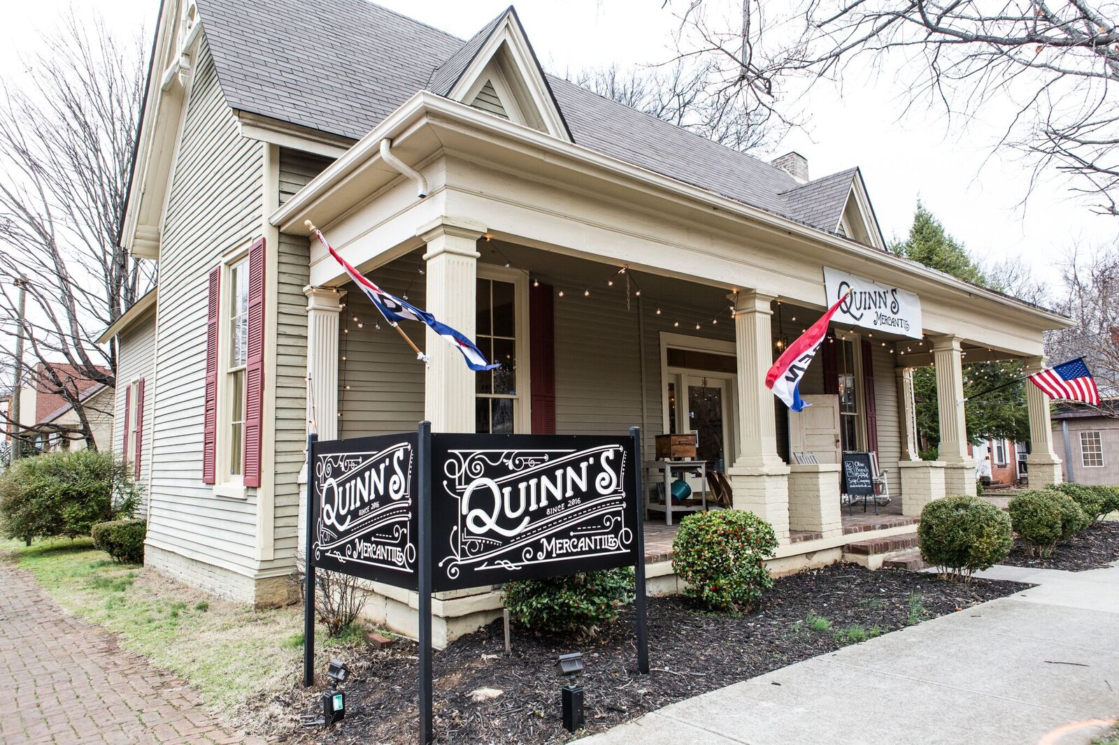 Quinn's Mercantile in downtown Murfreesboro