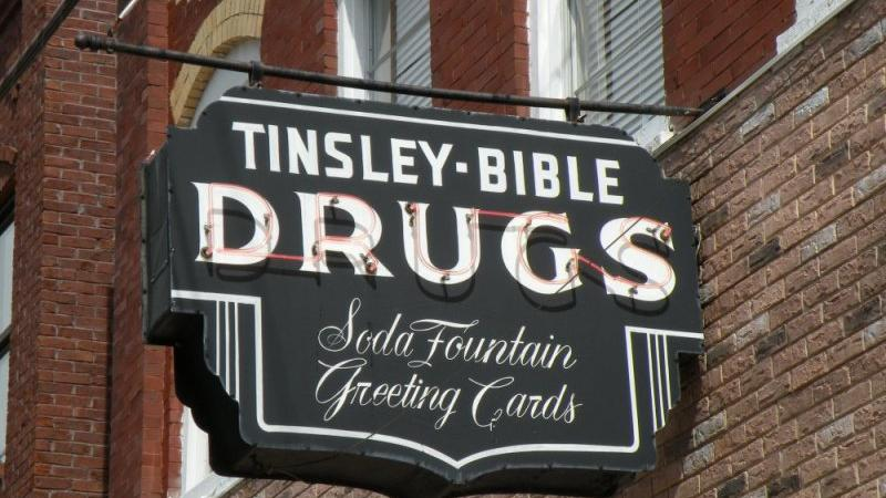 Tinsley Bible Drug Store