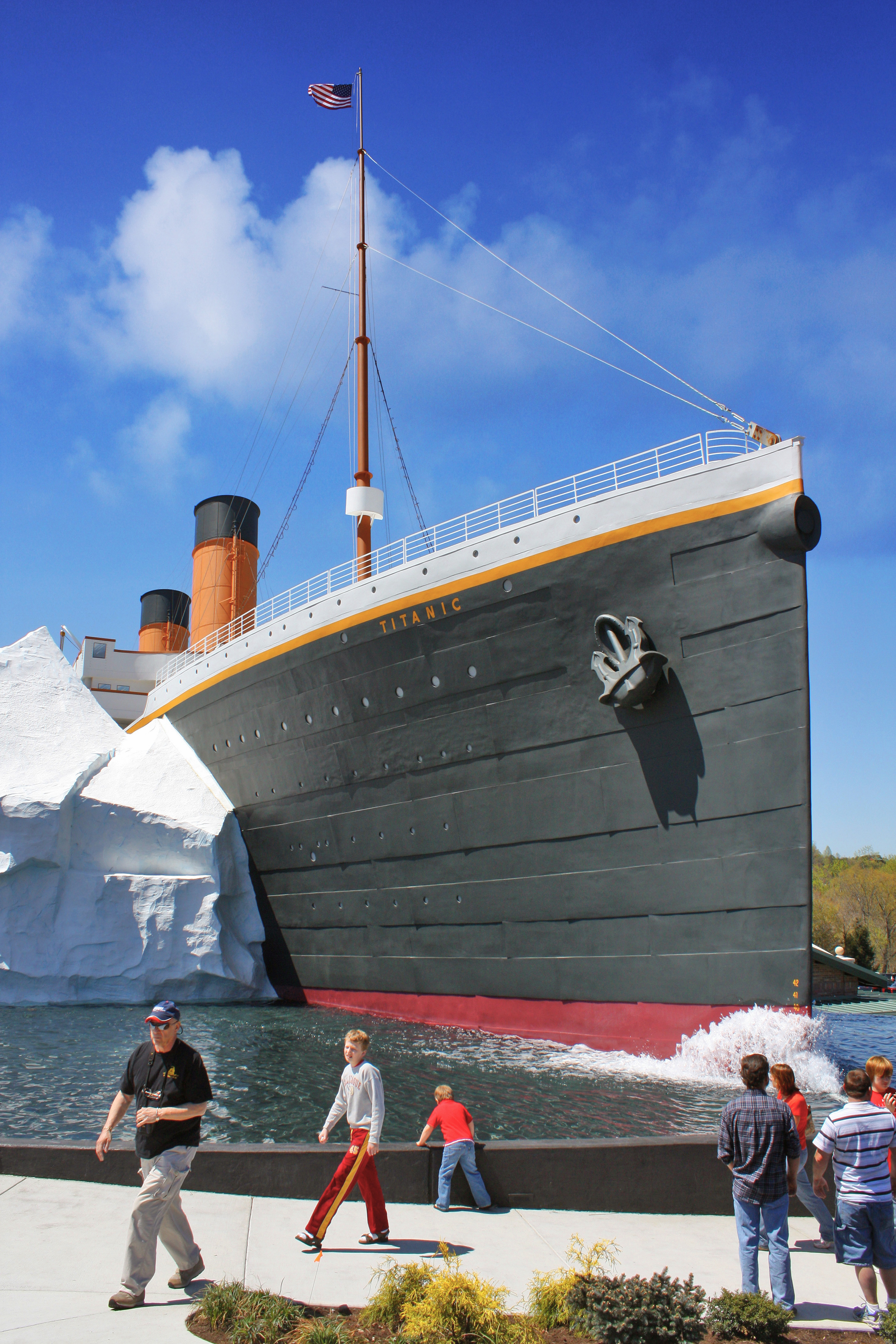Titanic Museum Attraction at Pigeon Forge