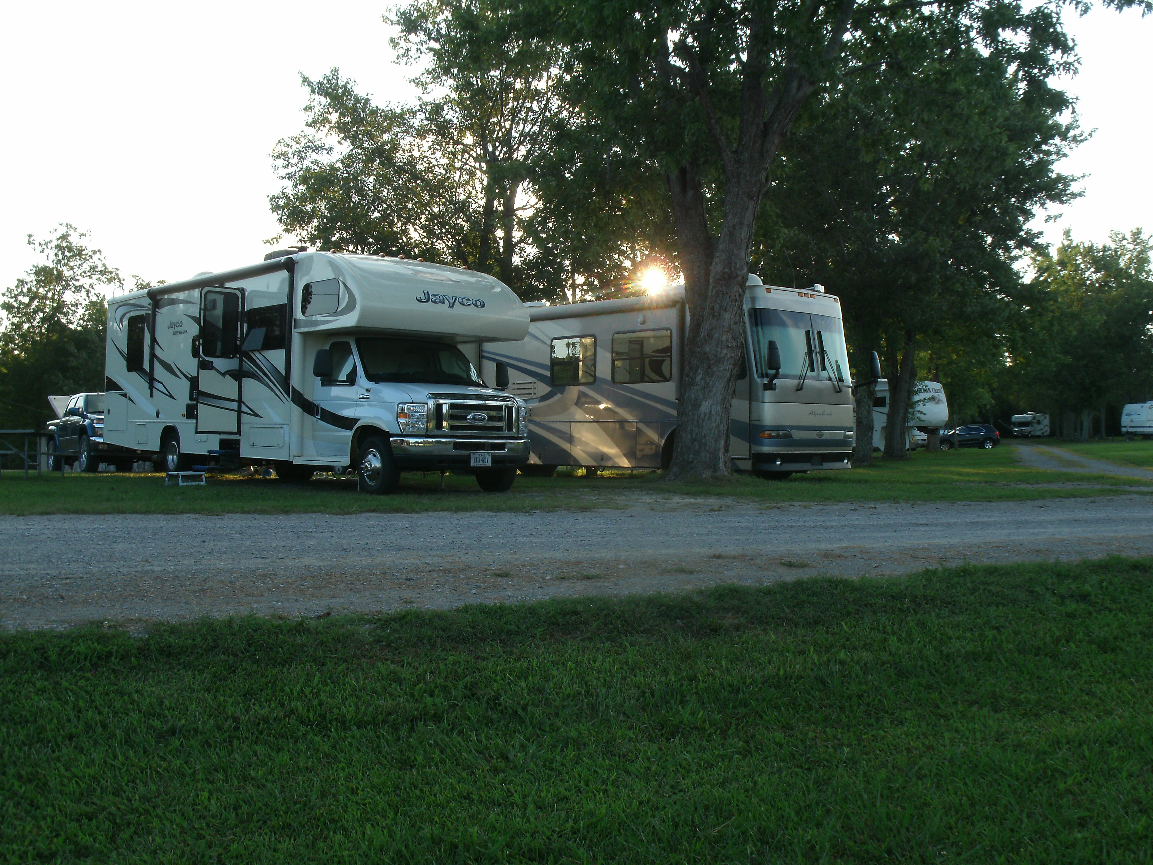 Ballyhoo Family Campground In Crossville Tn Tennessee