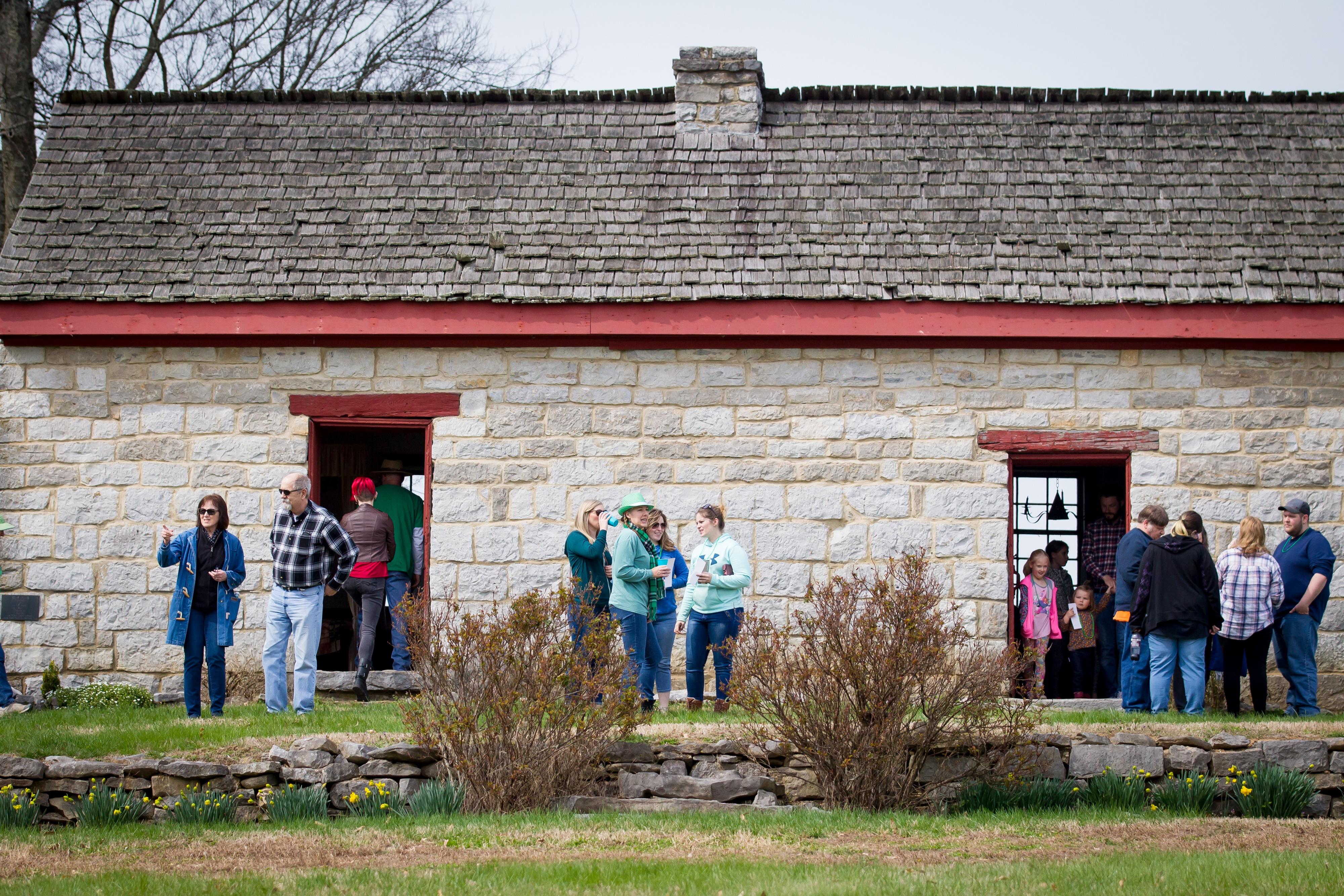 Bledsoe's Fort Historical Park in Castalian Springs, TN