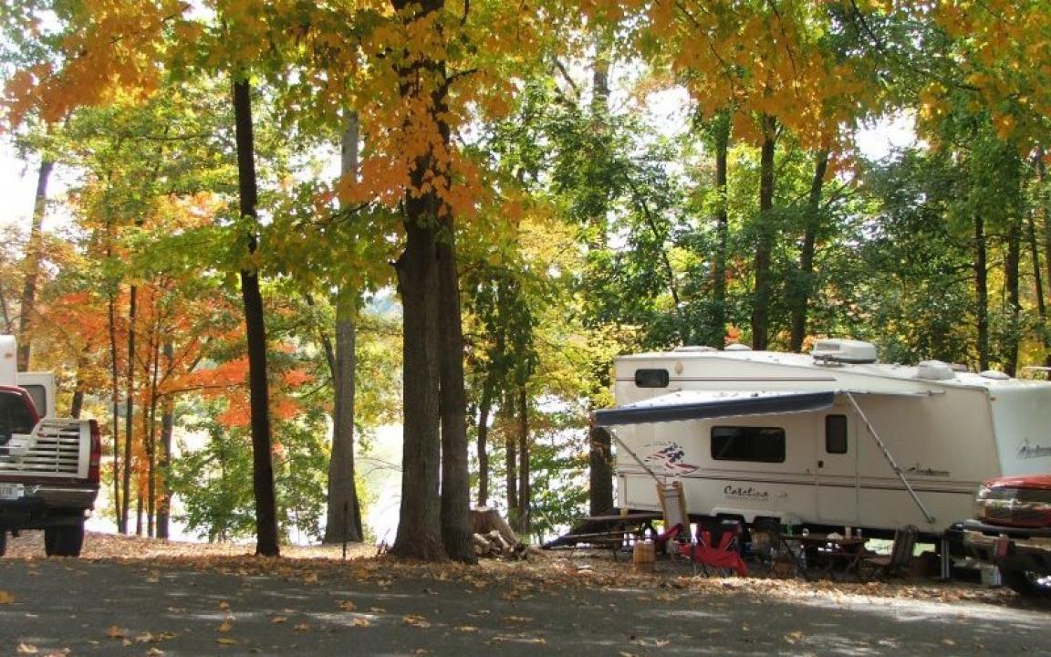 Cherokee Park Campground & Marina in Morristown, TN