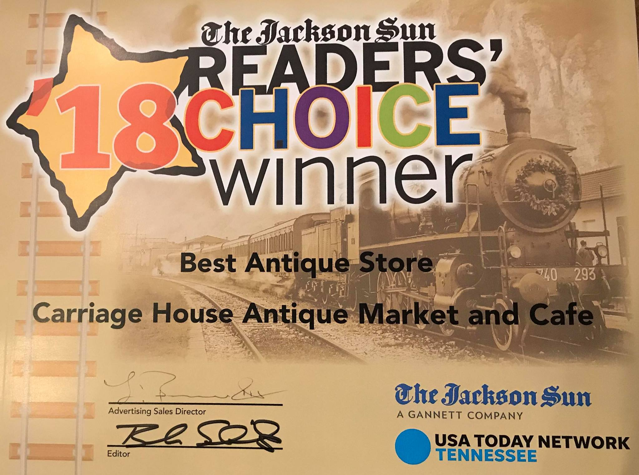 Carriage House Antique Market And Cafe In Jackson Tn Tennessee
