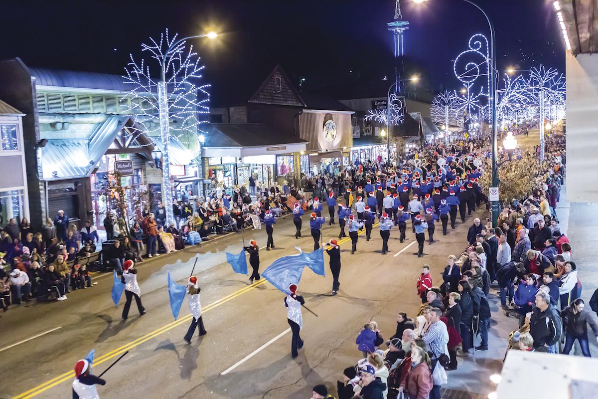 Fantasy of Lights Christmas Parade in Gatlinburg, TN   Tennessee