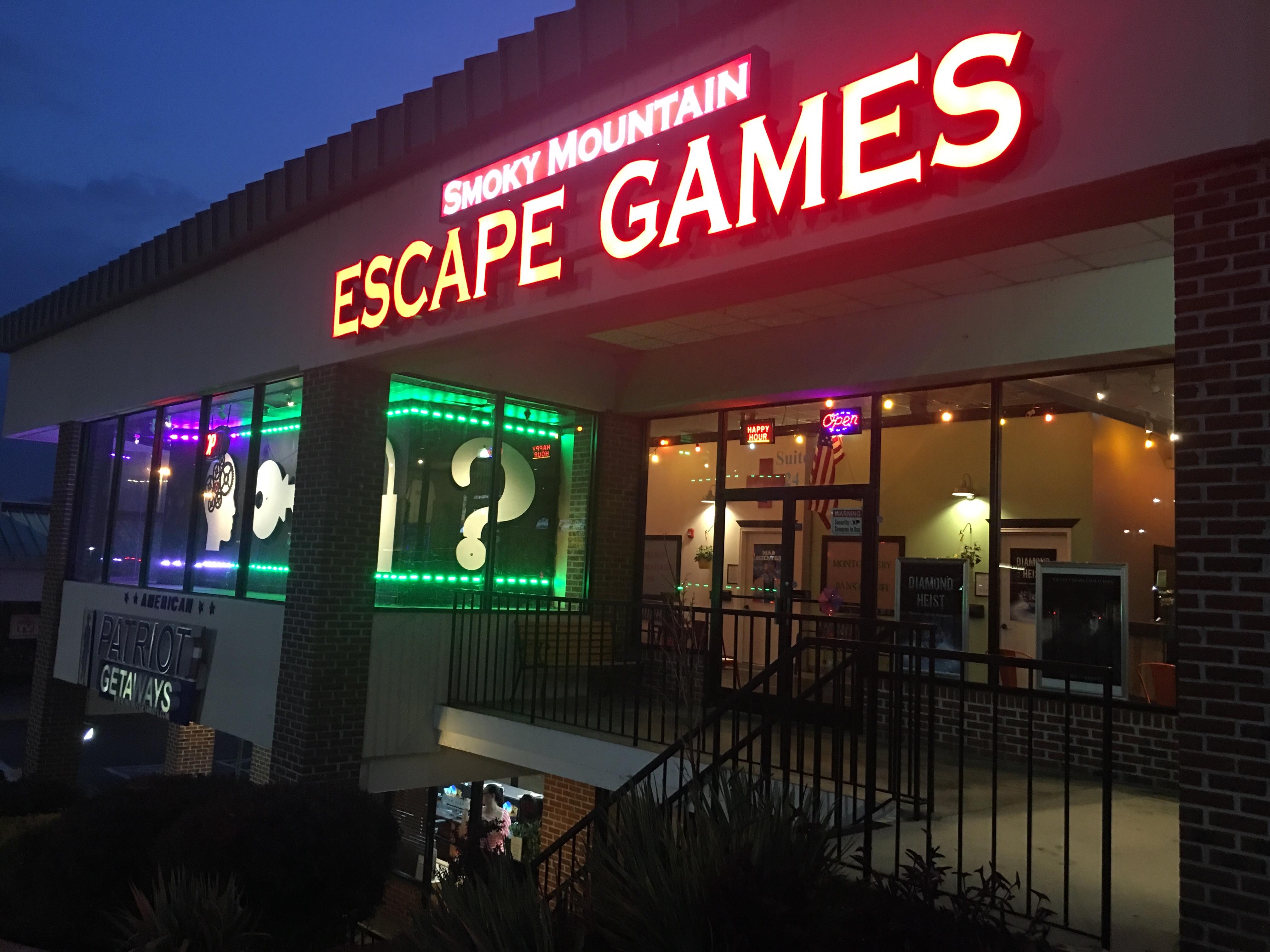 Alcatraz Escape Game Pigeon Forge Tn Gameswalls Org